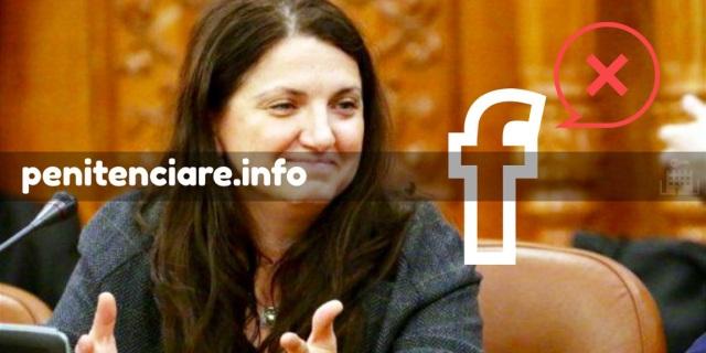Raluca Pruna interactioneaza cu angajatii din penitenciare