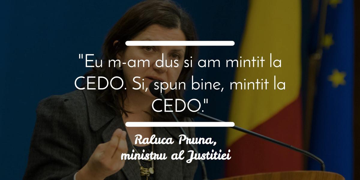 Raluca Pruna, mesaj de adio