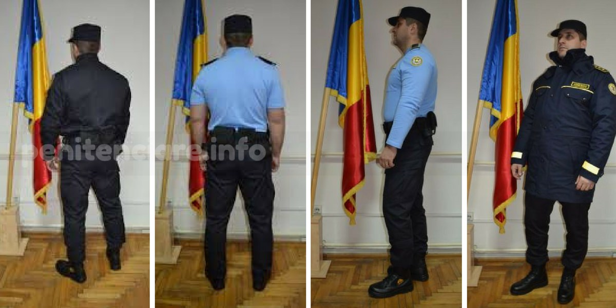 Articole de uniforma pentru angajatii din penitenciare