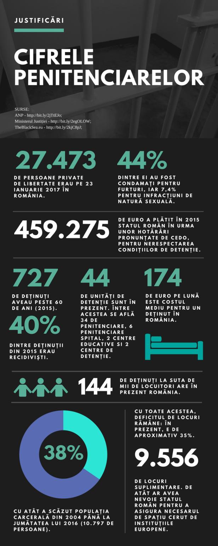 Penitenciarele in cifre