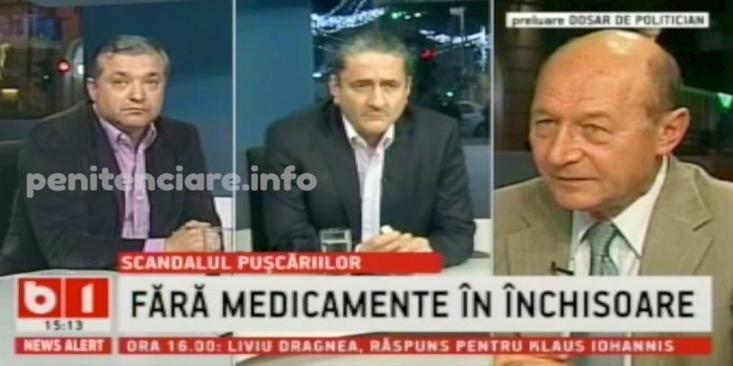 VIDEO Basescu despre penitenciare labeunu