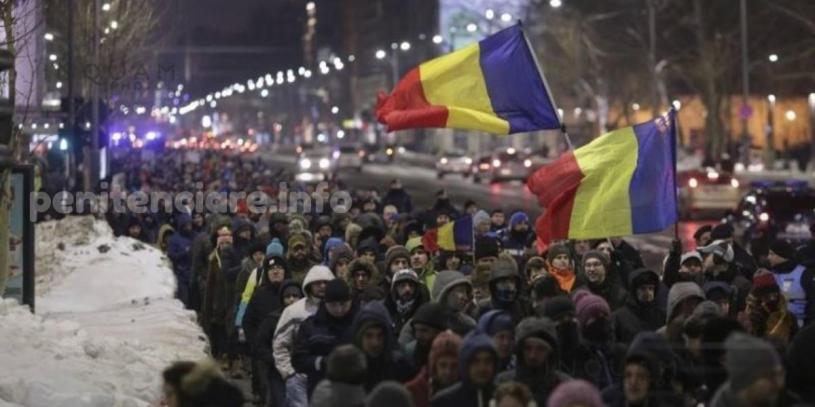 """Prison Break"" de Romania a scos mii de oameni in strada"