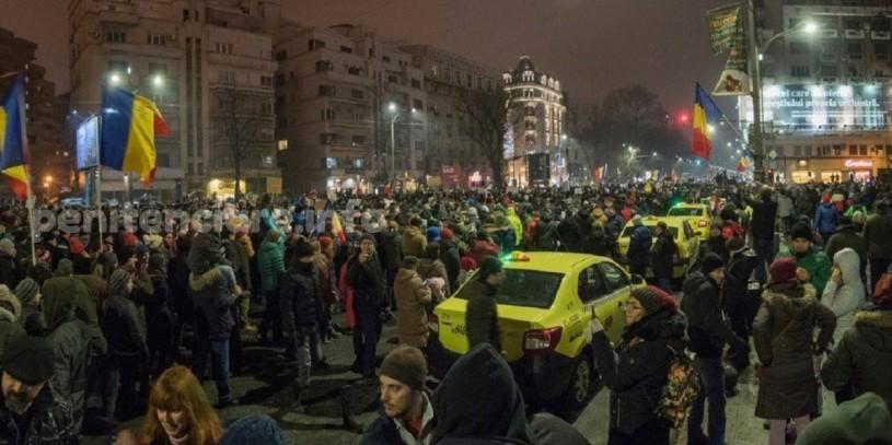 Duminica 29.01 - un nou protest in Bucuresti impotriva gratierii