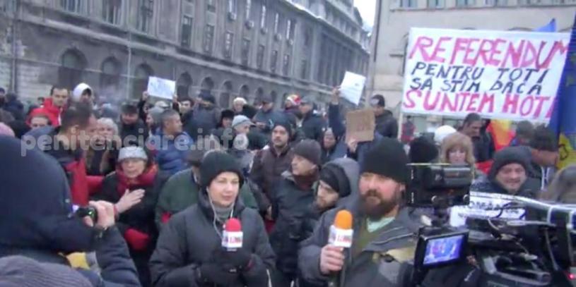 LIVE | Protestul impotriva gratierii