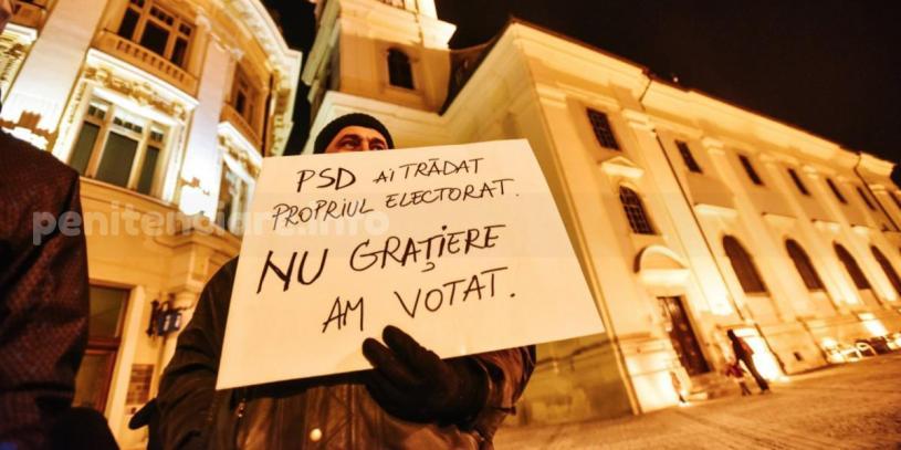 Manifestatii si contramanifestatii pe tema ordonantei gratierii