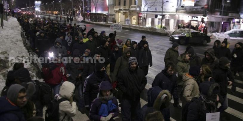 VIDEO | Proteste in Bucuresti impotriva gratierii colective