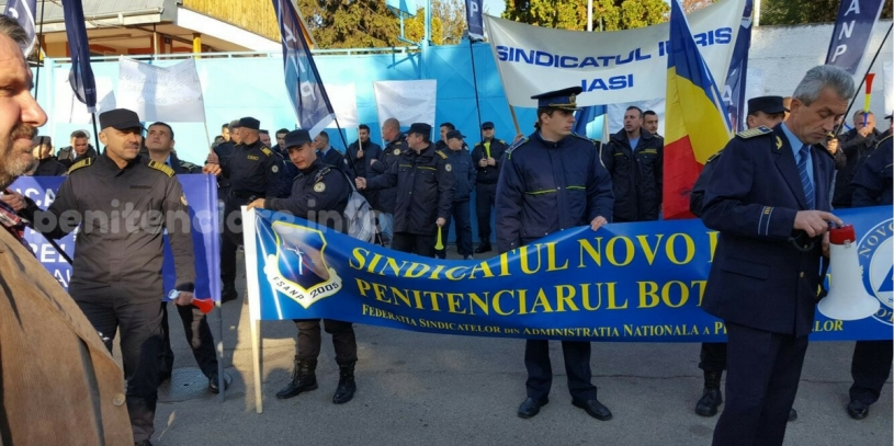 Pensionarea presedintelui Dorin Scarli insemna o pierdere pentru Sindicatul Iuris din Penitenciarul Iasi