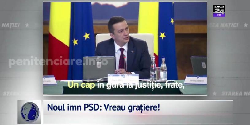 VIDEO | Noul imn PSD: Vreau gratiere!