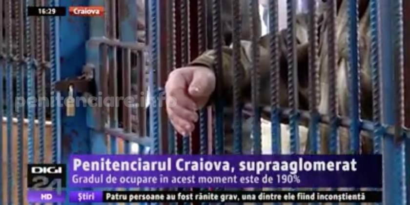 Penitenciarul Craiova: Lipsa de personal, conditiile de munca si de detentie in contextul gratierii
