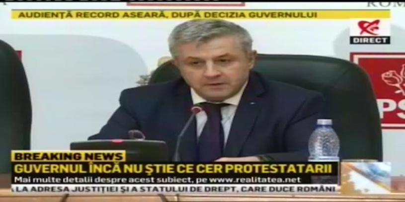 Guvernul inca nu stie ce vor protestatarii