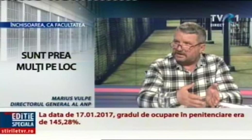 VIDEO   Situatia din penitenciare - invitat Florin Schiopu, presedintele FSANP