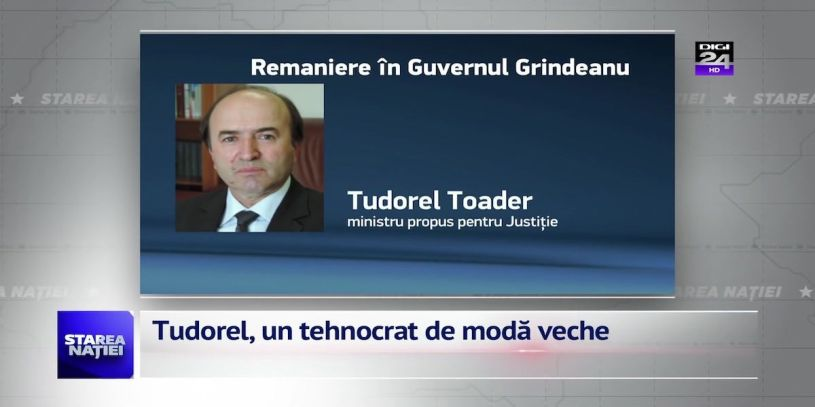 VIDEO | Tudorel, un tehnocrat de moda