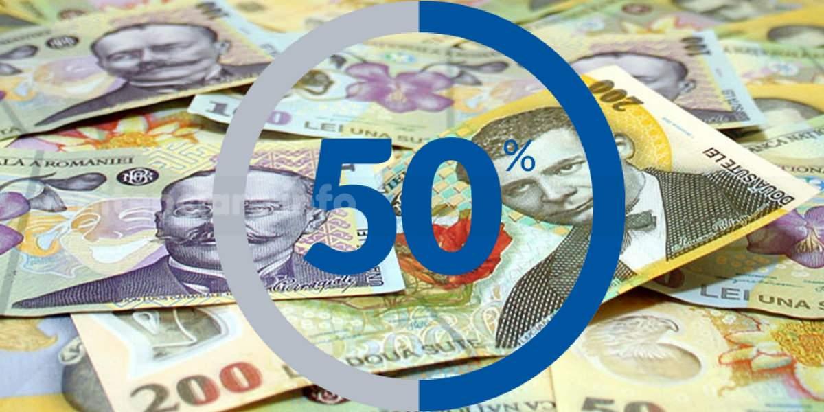 50% pentru directori si adjuncti