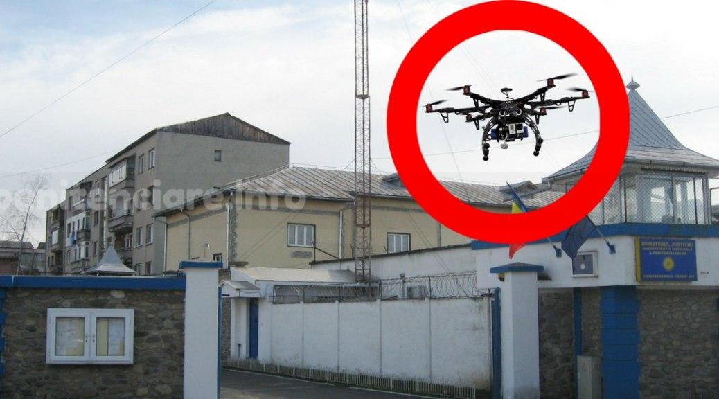 Sistem neputincios la drone transportoare de obiecte interzise
