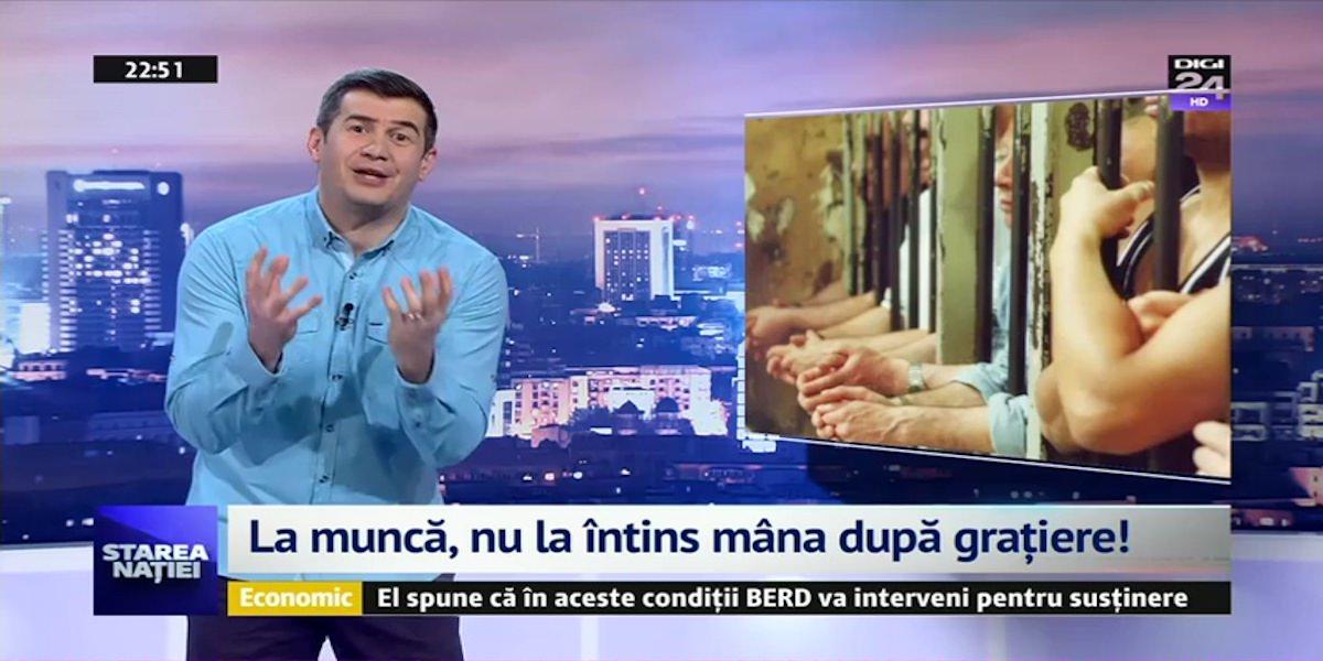 Video | Starea Natiei: La munca, nu la intins mana dupa gratiere!