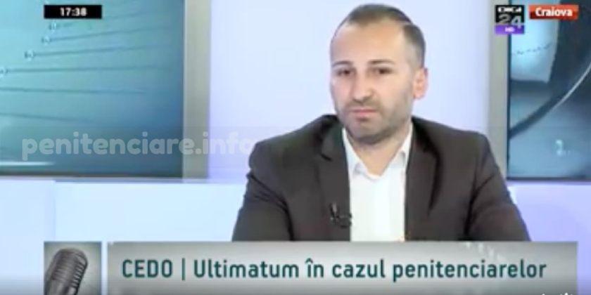 Cosmin Dorobantu la DIGI24: CEDO, ultimatum in cazul penitenciarelor