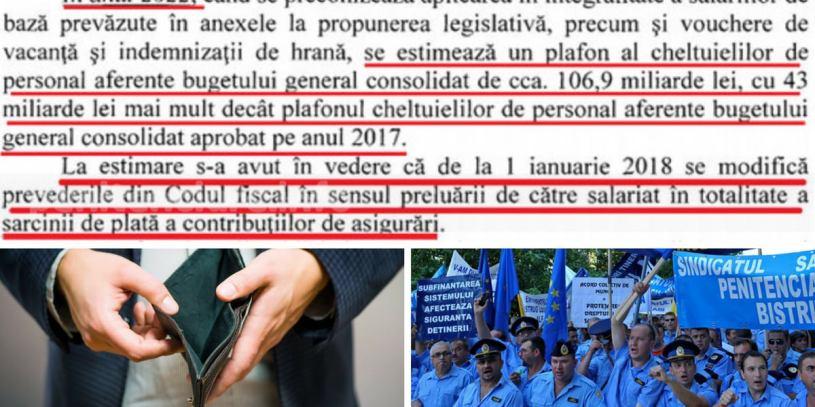 Capcana Guvernului intinsa salarizarii angajatilor