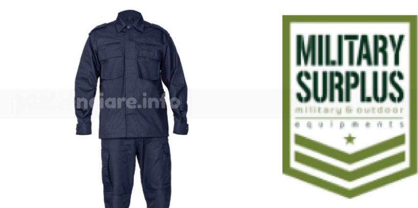 Uniforma pentru angajatii din penitenciare