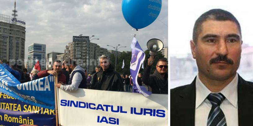 Deputatul Vasile Cîtea a vizitat Penitenciarul Iasi, la invitatia liderului de sindicat Dorin Scarlii