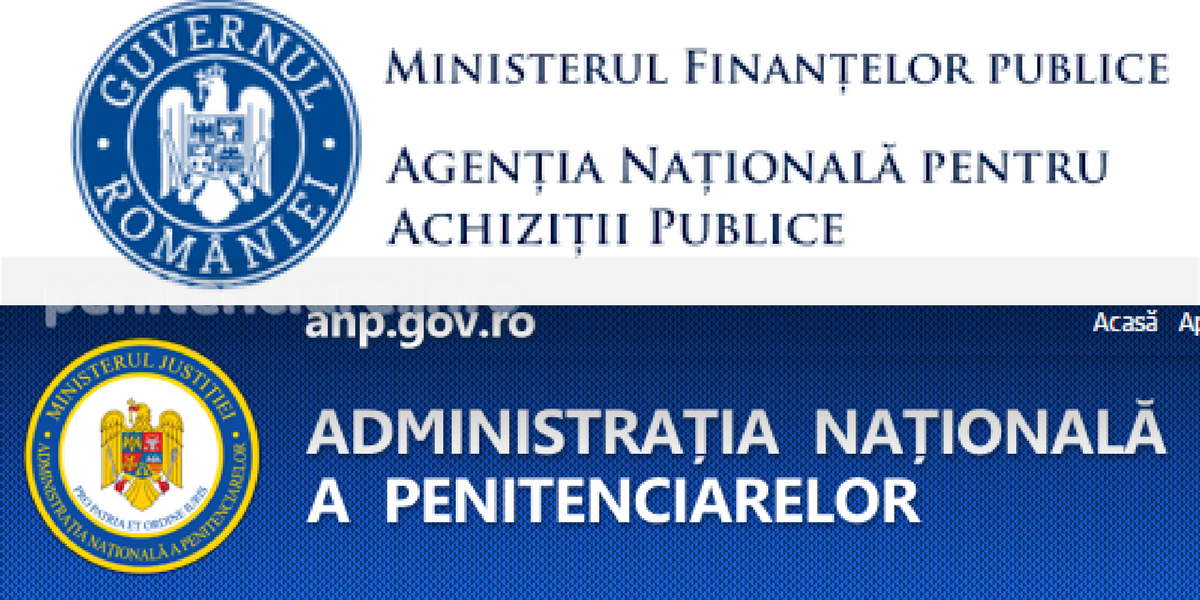 D-ale lu' Zmeu: Penitenciarul Giurgiu a fost amendat cu 10.000 lei de Agentia Nationala pentru Achizitii Publice