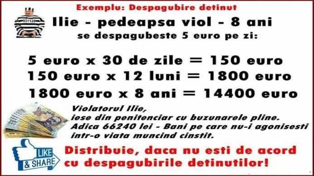 Tudorel premiaza violul cu 14.400 de euro?!