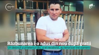 Video | Detinut in permisie isi terorizeaza denuntatorii