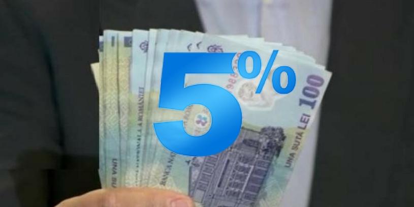 Spor de 5% supraveghere pentru agentul tehnic (educatie)