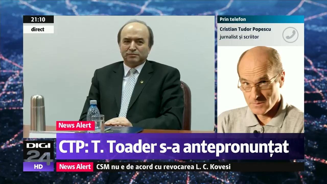 CTP: Toader, aprodul Purice al PSD