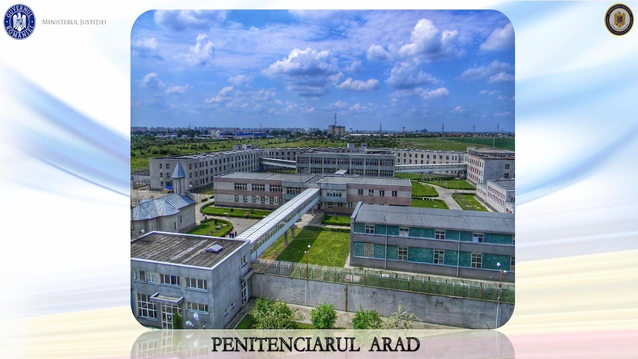 Penitenciarul Arad - prezentarea pentru Toader