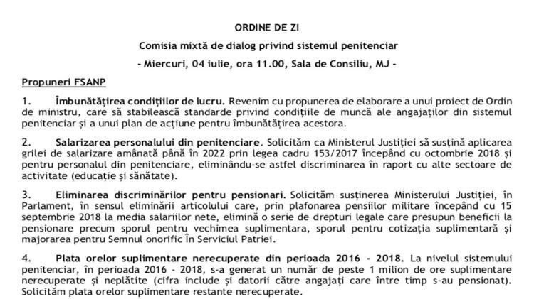 Ministerul Justitiei trimite propunerile pentru Comisia Mixta