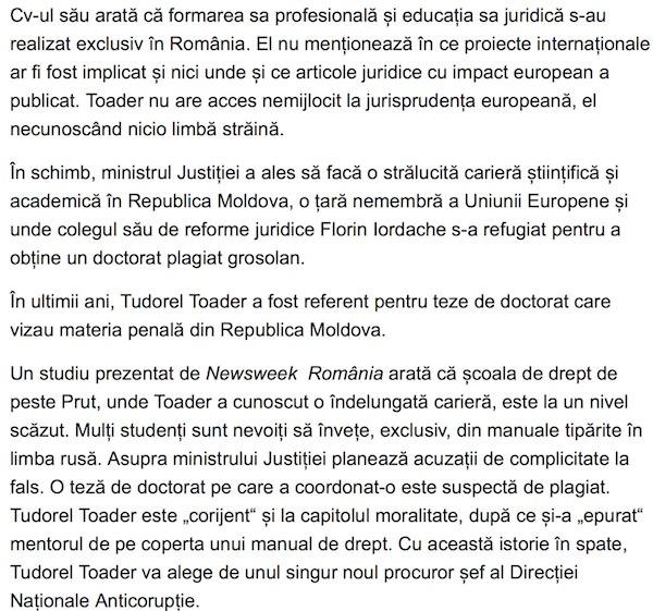 Tudorel Toader, dom_ profesor de la Balti
