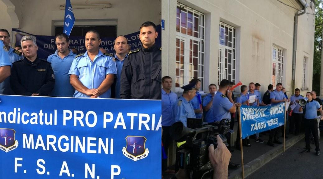 PRO TV & PRESA LOCALA   Angajatii din Penitenciarul Marginei si Targu-Mures protesteaza