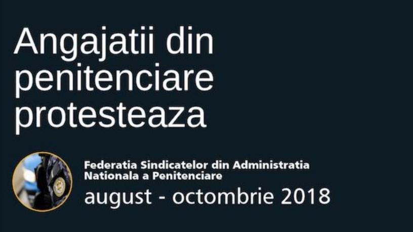 Se anunta proteste ale angajatilor din Penitenciarele: Craiova, Pelendava, Giurgiu, Slobozia si Galati
