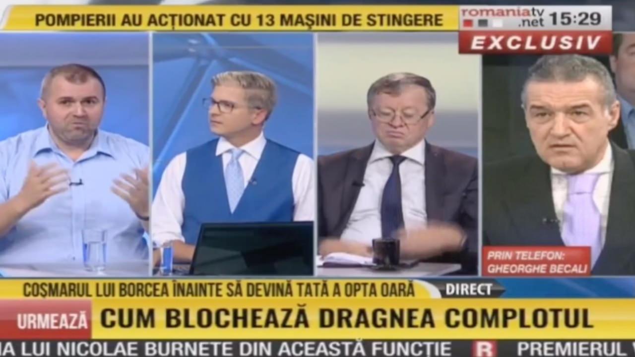 RTV | Disperare! Becali si Spanu vor sa-l scoata pe Borcea din incurcatura cu creditele.