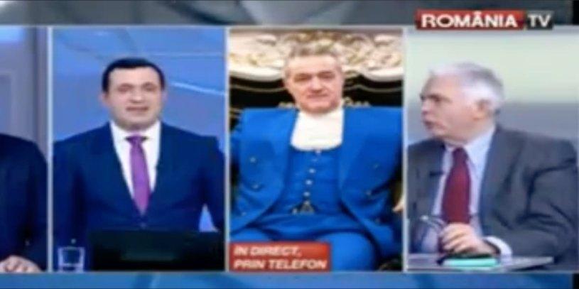 Romania TV | Ciobanul de Gigi Becali jigneste politistii de penitenciare
