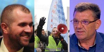 Politia, Penitenciarele si Pensionarii protesteaza in strada