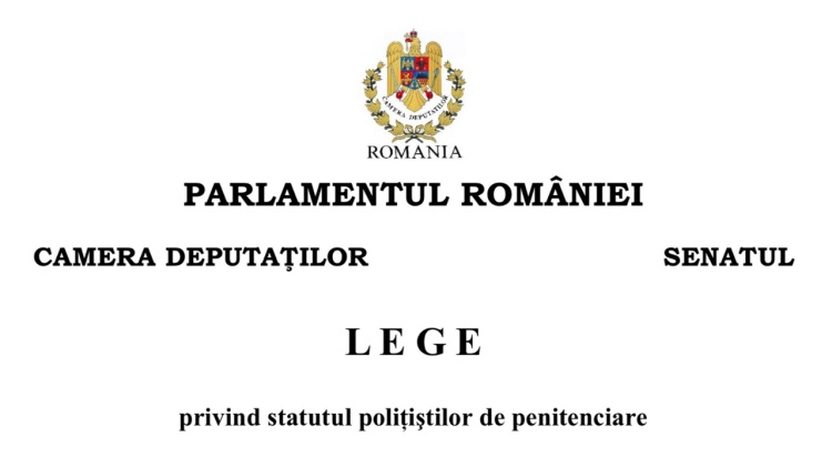 Statutul politistului de penitenciare